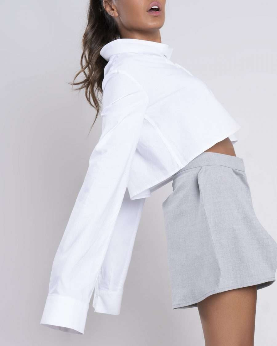 Buy Curved Collar Shirt Online